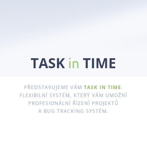 Task in Time webová aplikace