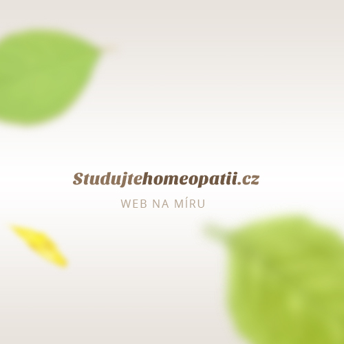 Studujtehomeopatii.cz Reference e-learning