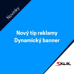 Sklik zavedl nový typ reklamy – Dynamický banner