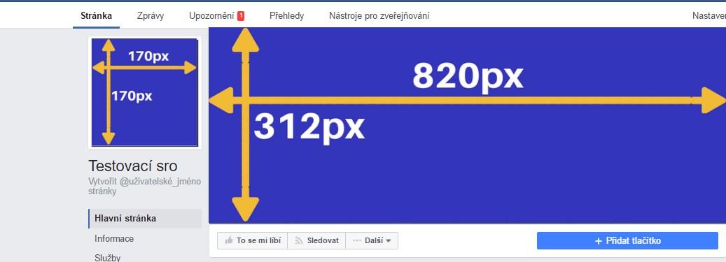 rozměry fotek na facebook