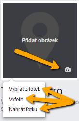 přidání profilového obrázku