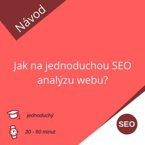 Jak na jednoduchou SEO analýzu webu?