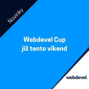 WEBDEVEL CUP již tento víkend 20. - 21. 1. 2018