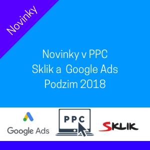 Novinky ve světě PPC reklam - Září 2018