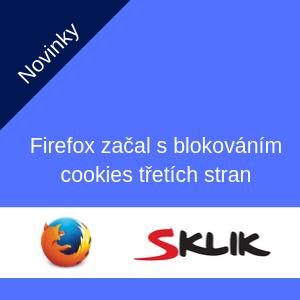 Firefox již začal s blokováním cookies třetích stran. Jaké důsledky to má pro cílení a vyhodnocování reklamy na Seznamu?