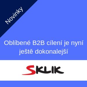 Sklik – oblíbené B2B cílení je nyní ještě dokonalejší